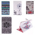 TX Fashion Design feather Painting case For Samsung Galaxy Tab S 8.4 SM T700 T705C T705 PU Leather Stand Wallet Flip cover