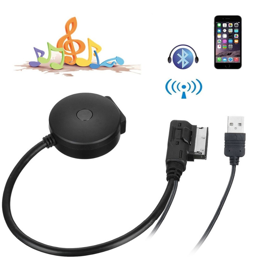 Popular Cable Volkswagen Mdi Usb Buy Cheap Cable: Lonleap Media In AMI MDI To Bluetooth Audio Aux & USB