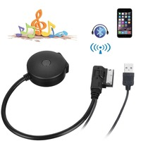 Lonleap Media In AMI MDI to Bluetooth Audio Aux & USB Female Cable for Car VW AUDI A6 Q7 Before 2009