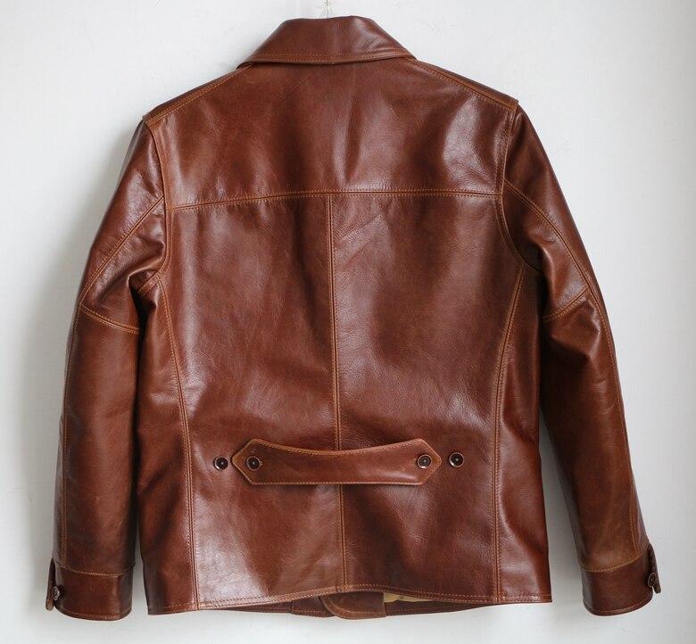 HTB1L2 LyVuWBuNjSszbq6AS7FXaa Free shipping,Brand men's 100% genuine leather Jackets,classic oil wax cow leather jacket,japan brakeman jacket.original