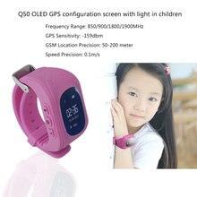 5 шт. светодиодный Дисплей Для детей Профессиональный умный наручные часы Водонепроницаемый Смарт-часы gps трекер Locator Anti-потерянный