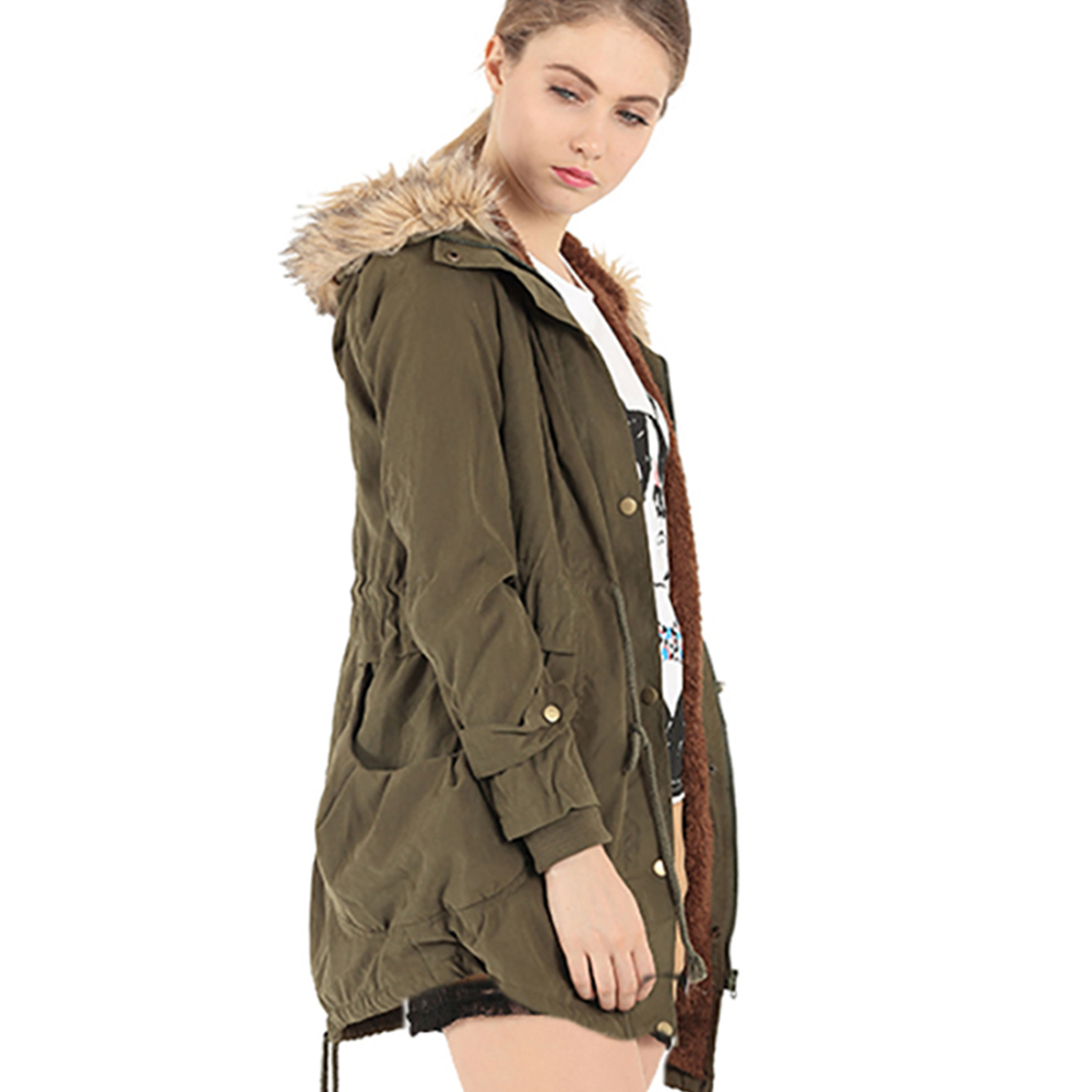 Online Buy Wholesale khaki parka coat from China khaki parka coat ...