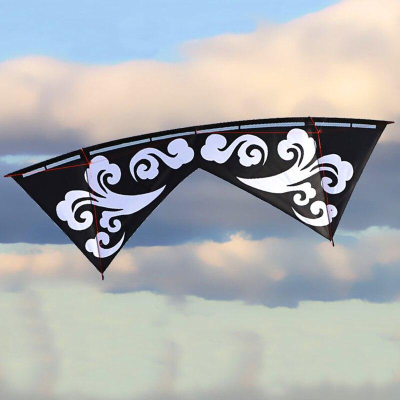 Бесплатная доставка Высокое качество волны quad line трюковые воздушные змеи ручка линии Открытый игрушки летающий Альбатрос воздушные змеи з...