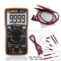 AN8009 True RMS Auto Range Digital Multimeter NCV Ohmmeter AC/DC Voltage Ammeter Current Meter temperature measurement JUL04