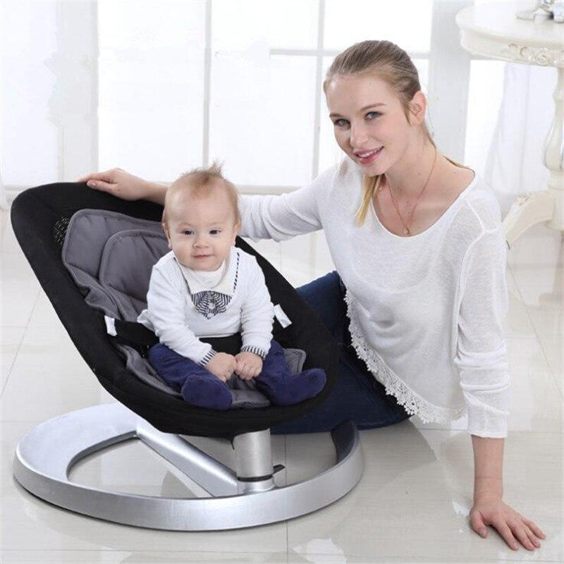 Chaise berçante bébé balancelle bébé pour bébé Bebek Salincak nouveau-né panier de couchage berceau automatique bebek salincak - 2