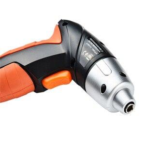 Image 5 - 24 Uds 4,8 V eléctrico recargable ligero destornillador inalámbrico juego de brocas cargador EU destornillador eléctrico