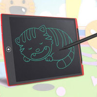 12 Inch LCD Flexible LCD Writing Board Children Graffiti Writing Light Black Board Red Orange Blue