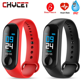 Smart Wristband Pedometer Fitness Tracker Waterproof IP67 Fitness Bracelet Blood Pressure Measurement Sport Wrist Band Smart