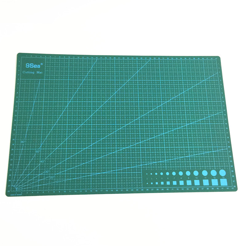 Top Quality A3 Self Healing Non Slip Craft Quilting Printed Grid Lines Board Double-sided Cutting Mat 30cm x45cm x0.3 a4 grid lines cutting mat craft card fabric leather paper board 30 22cm