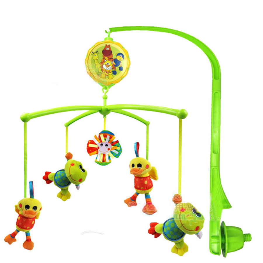 Stroller Rattle Baby Toys Bed Wind Bell 0-12 Months Plastic Rattles Music Animal Decoration Brinquedos Toys For Young 705373 cute animal baby infant rattles toy baby bed stroller hanging cartoon animal rattle handbells toys for infant kids