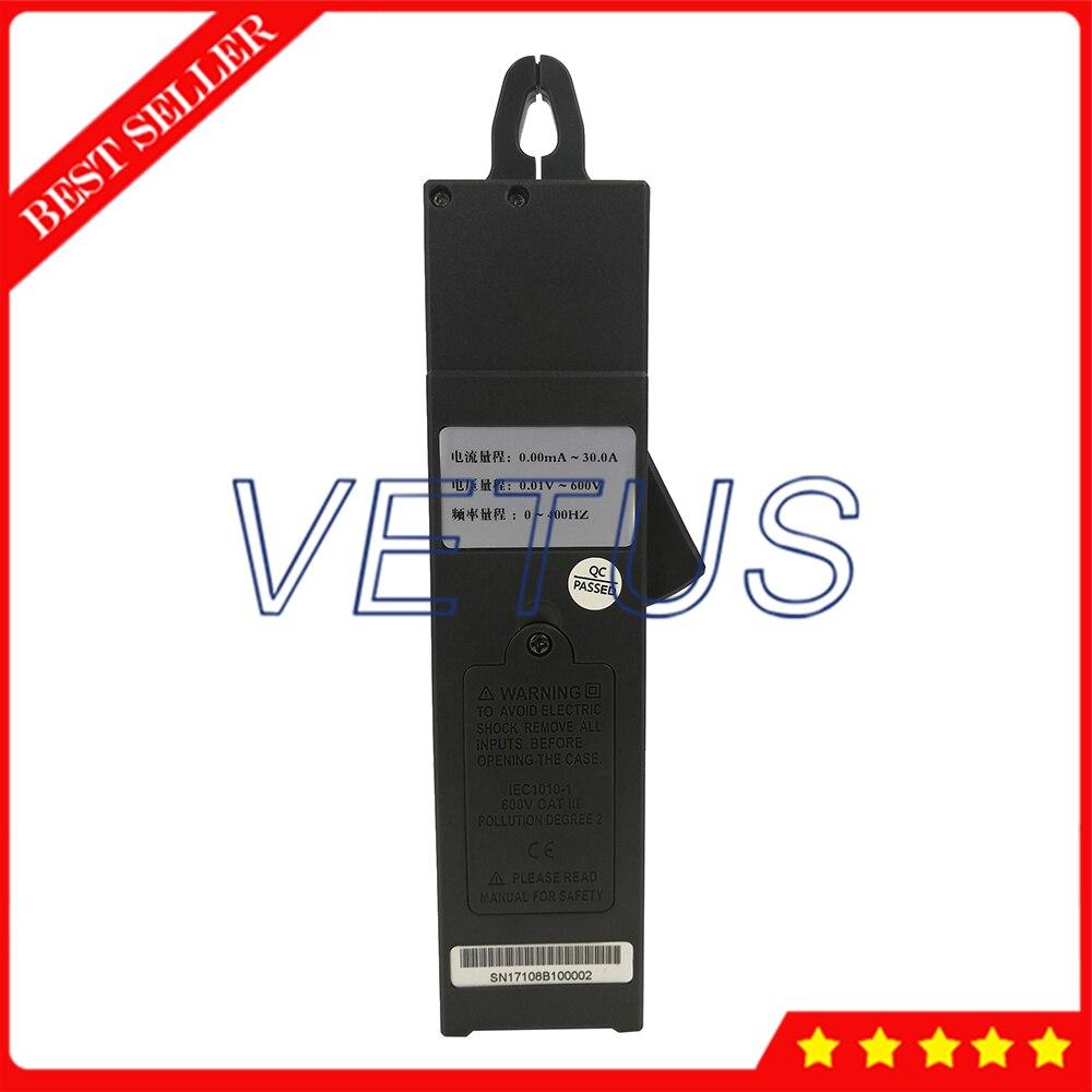 S108B Mini pince compteur de fuite de courant avec tension 0 à 600V courant 99 ensembles de données enregistrer pour le test en ligne 380/220V système d'alimentation - 4
