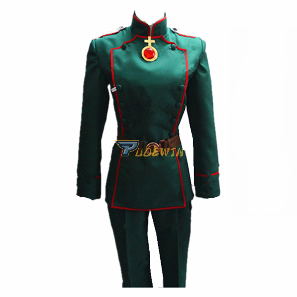 Anime Saga of Tanya the Evil Youjo Senki Tanya von Degurechaff Cosplay Costume(China)