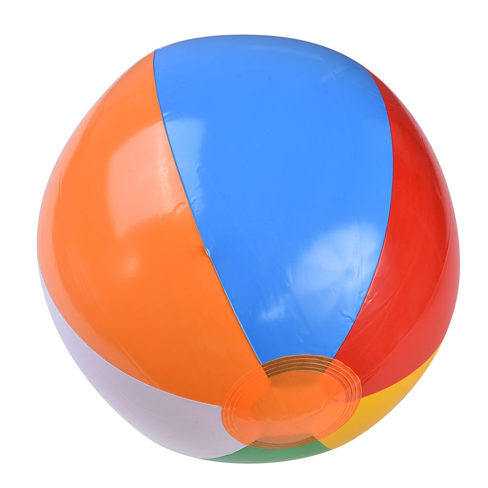 23CM Colorful Baby Kids Learning Beach Ball Sea Swimming Pool Water Play Ball Inflatable Children Rubber Educational Soft Toys in Toy Balls from Toys Hobbies
