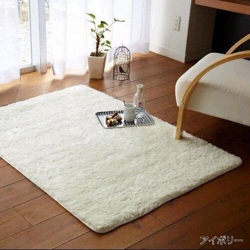 Colore solido moderno tappeti area semplice piano tappeti camera da letto tappeto coreano - Tappeti camera da letto ...