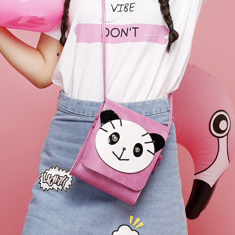 Bag 2017 new casual fashion shoulder oblique crossbody female bag Korean tide ladies bear cartoon cute little hand bag hot fashion design personality little bear women backpacks cute character shapes cartoon girls schoolbag casual shoulder bag