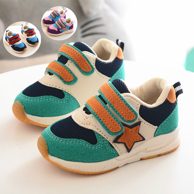 Sport Children Shoes Kids Boys Running Sneakers Spring Autumn Net Mesh Breathable Girls Shoes Casual Shoe For Kids Toddler