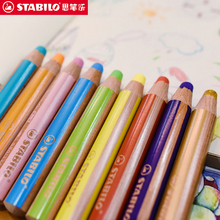 Baby Crayon Oil-Pastel Color-Painting-Powder Washable Child Stabilo Marker-Line-Pen Safety-Brush
