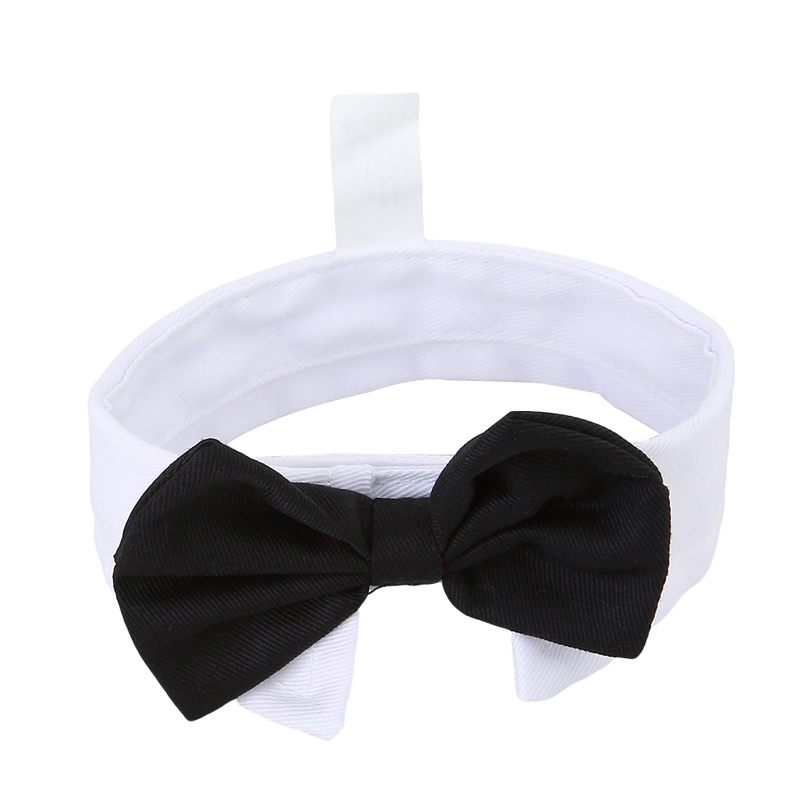 Top Bow Tie Bow Adorable Dog - Adorable-Pet-Dogs-Grooming-Cat-Striped-Bow-Tie-Collar-Decoration-Adjustable-Neck-Tie-Black-White-Puppy  Gallery_577751  .jpg
