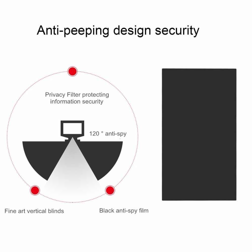 10 بوصة الخصوصية حماية تصفية شاشات مكافحة يبصر طبقة رقيقة واقية لأمن الخصوصية ل 16:9 كمبيوتر محمول