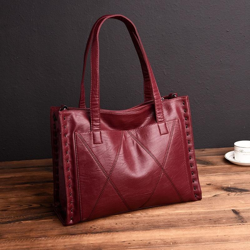 Cobbler Legend Leather Women Bag Female Handbags Tote Bags Women Messenger Crossbody Bags Black Ladies Shoulder