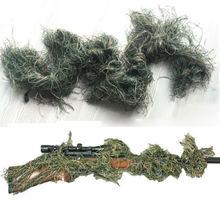 Наружная Военная Тактическая деревянная 3D камуфляжная Крышка Ствольной Коробки для винтовки GHILLIE обертывание Снайпер для охоты для пейнтбола