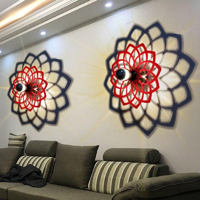 2017 Neue Mode Modern Art E27 Wandleuchte Für Zuhause Schlafzimmer  Wohnzimmer Dekoration Licht Innenbeleuchtung Hintergrund Wandleuchte