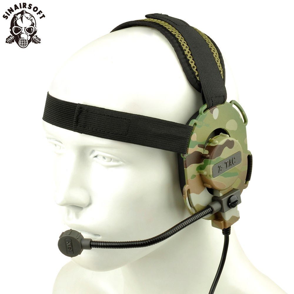 SINAIRSOFT Z-tactical Adjustable Harness Military Airsoft Hunting Sniper Bowman Evo III Airsoft Paintball Tactical Headset Z 029 цена