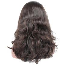 Jewish Wig 100% Unprocessed European Virgin Hair 4×4 Silk Base Human Hair Wigs 130% Natural Wavy Kosher Wigs Sports Bandfall Wig