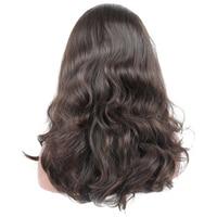 Jewish Wig 100% Unprocessed European Virgin Hair 4x4 Silk Base Human Hair Wigs 130% Natural Wavy Kosher Wigs Sports Bandfall Wig
