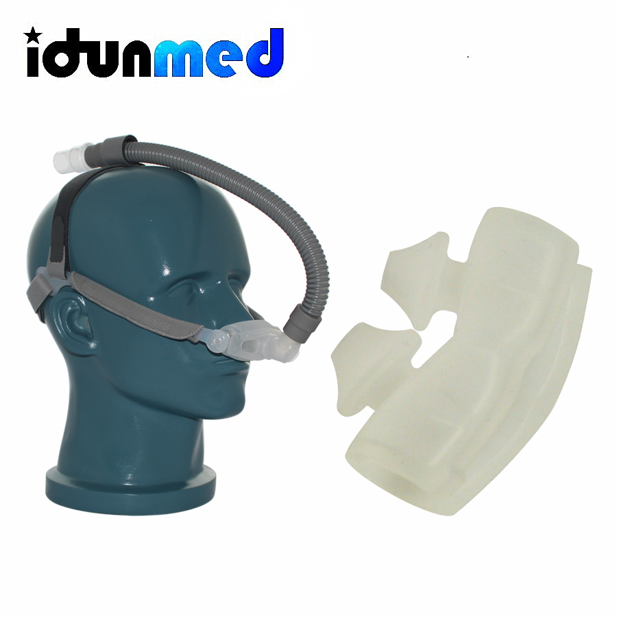 BMC CPAP Nasal Pillows Mask With Adjustable Strap Respirator For Travel CPAP Machine Anti Snoring Stopper