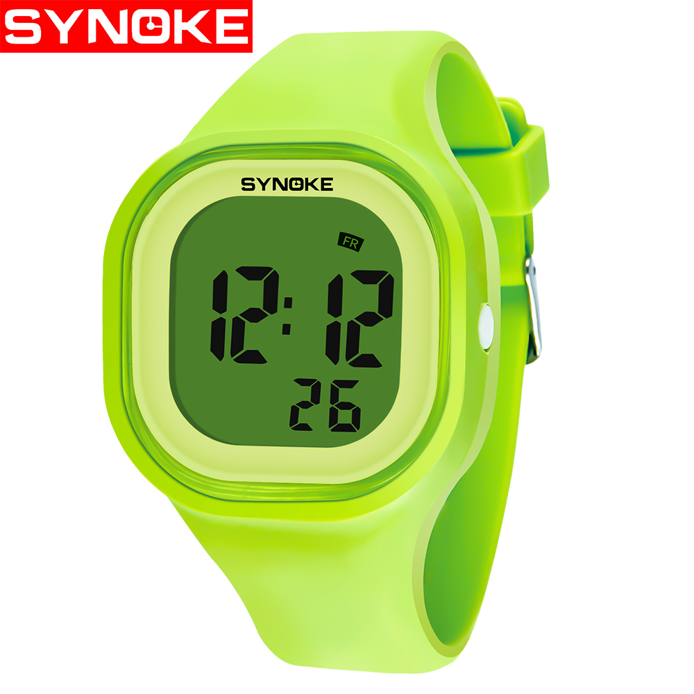 Kids Children Girl Boy Watches Wrist Watches Clock Silicone LED Light Digital Sport Watches Wholesale Erkek Saat