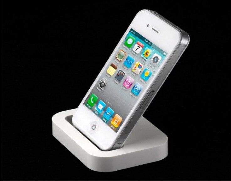 שולחן העבודה מטענים מתאם עבור Iphone5 מחזיק טלפון משלוח חינם dock מטען לאייפון 5 usb מטען
