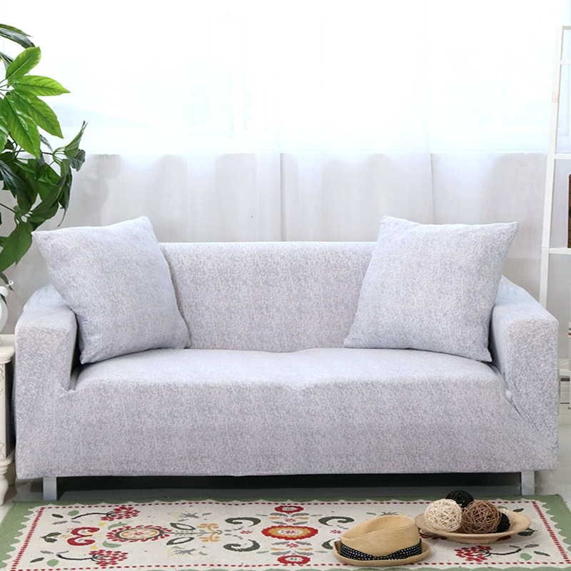 gray color sofa covers elastic for living room slipcovers for pets corner sofa cover single double three four seat cover|Sofa Cover|   - AliExpress