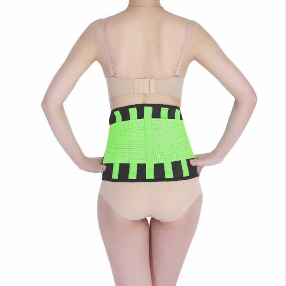 f219fd1b7a Women Medical Lower Back Brace Waist Trainer Belt Men Belts Breathable  Lumbar Corset Orthopedic Waist Support Size S M L XL XXL
