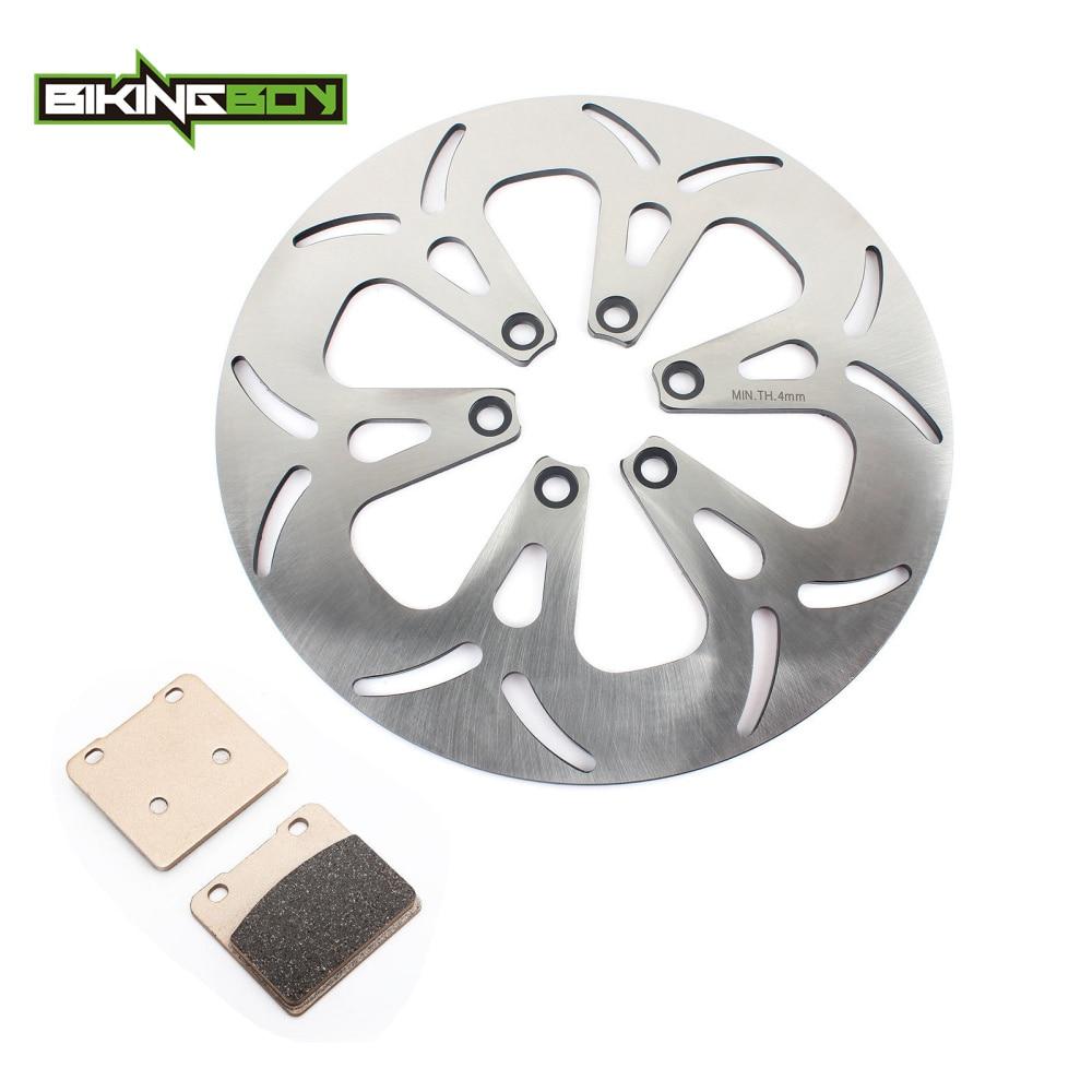 BIKINGBOY Front Brake Disc Disk Rotor Pads For Suzuki VS 1400 Intruder 87 04 03 02
