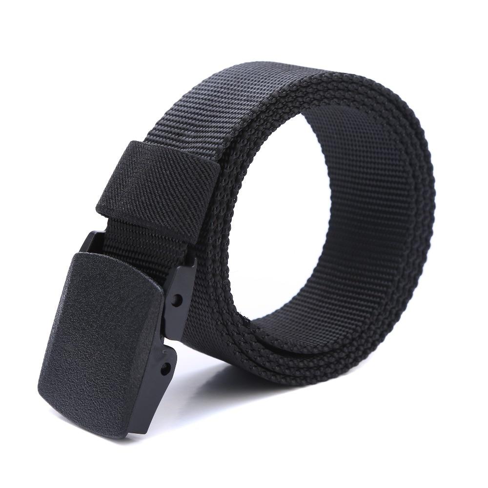 Automatic Buckle Nylon Belt Male Army Tactical Belt Mens Military Waist Canvas Belts Cummerbunds High Quality Strap