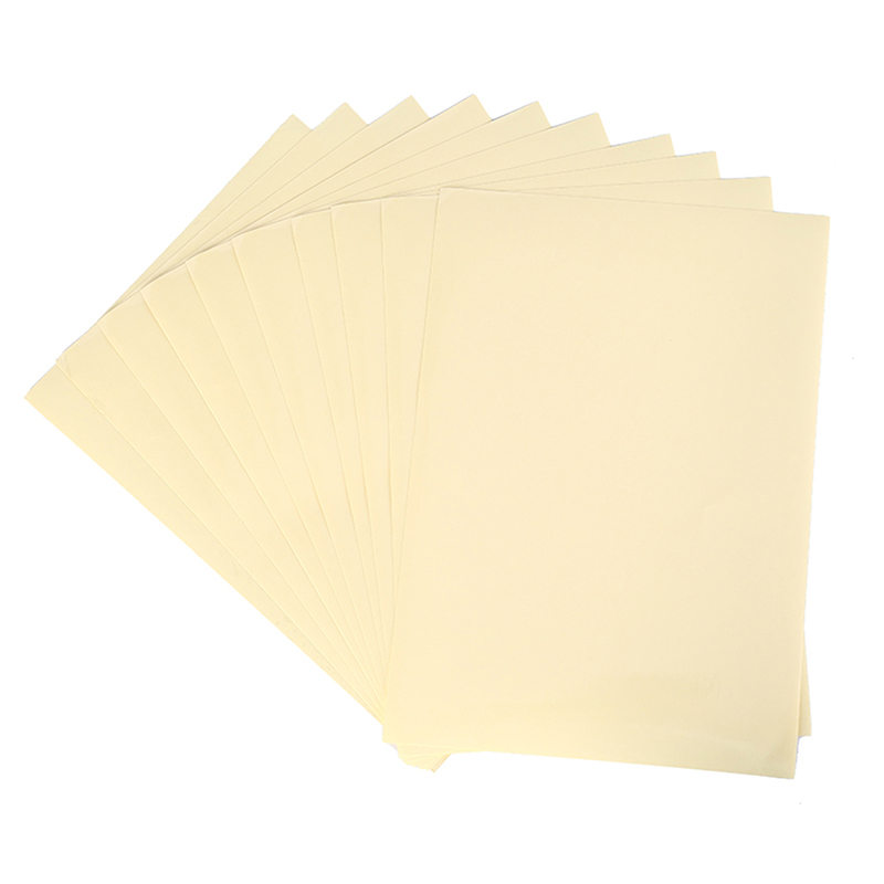 10Sheets A4 21 X 29.7cm Clear Transparent Self Adhesive Vinyl Film Label Sticker For Laser Printer