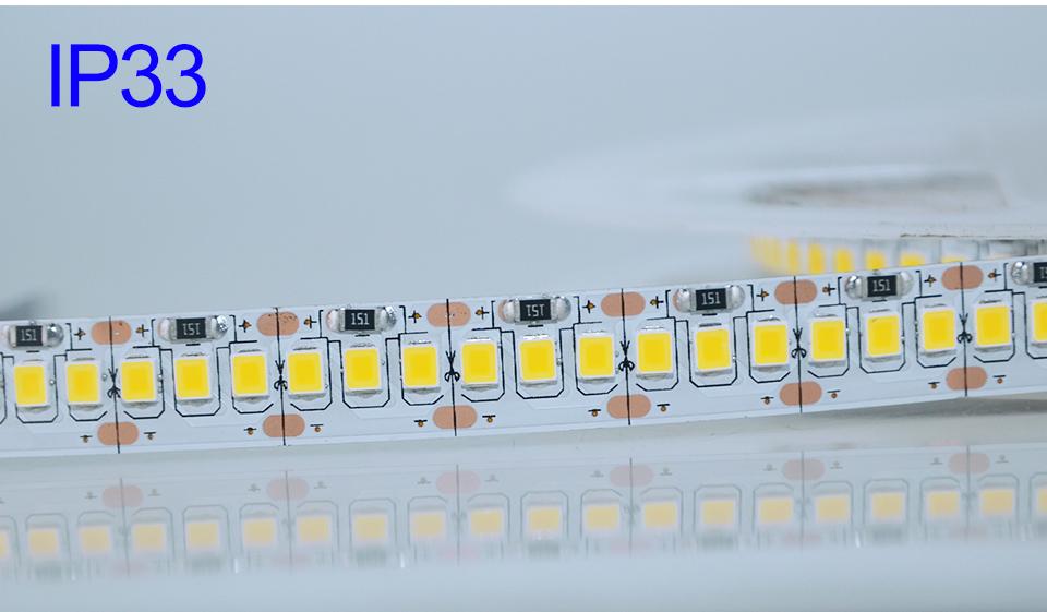 Ultra Bright SMD 2835 LED Strip DC 12V Flexible Waterproof Led Strip High Lumen LED Light Tape Ribbon Lamp 5MRoll 3528 5050 SMD Indoor 13