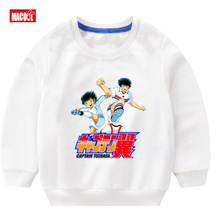 New Girls Cute Music Cotton Long Sleeve Pullover tops animal for Children Japanese Anime  O-neck Cartoon Casual T-shirt