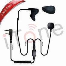Bone Condition Earpieces Spearker Handsfree Walkie Talkies Headset for Baofeng TK-340 TK-340D Radio's Headset Bone Earpiece