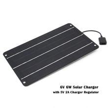 Солнечное зарядное устройство 10 Вт 6 Вт солнечные панели зарядное устройство с usb-портом солнечное зарядное устройство для мобильных телефонов В 5 В Usb