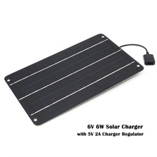 Solar Charger 10W 6W  Solar Panels Charger with Usb Port Solar Battery Charger Power for Mobile Phones 5V USB