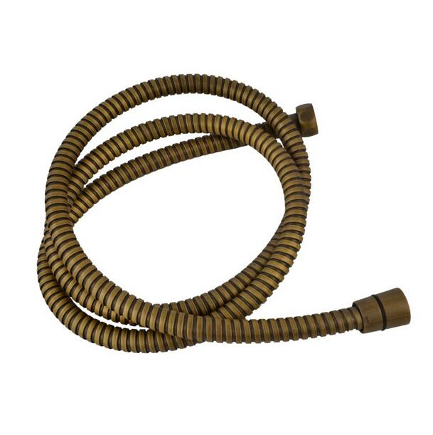 to buy a tube for a shower hose - Antique brass shower hose 1.5meter bathroom hose antique shower tube 150mm