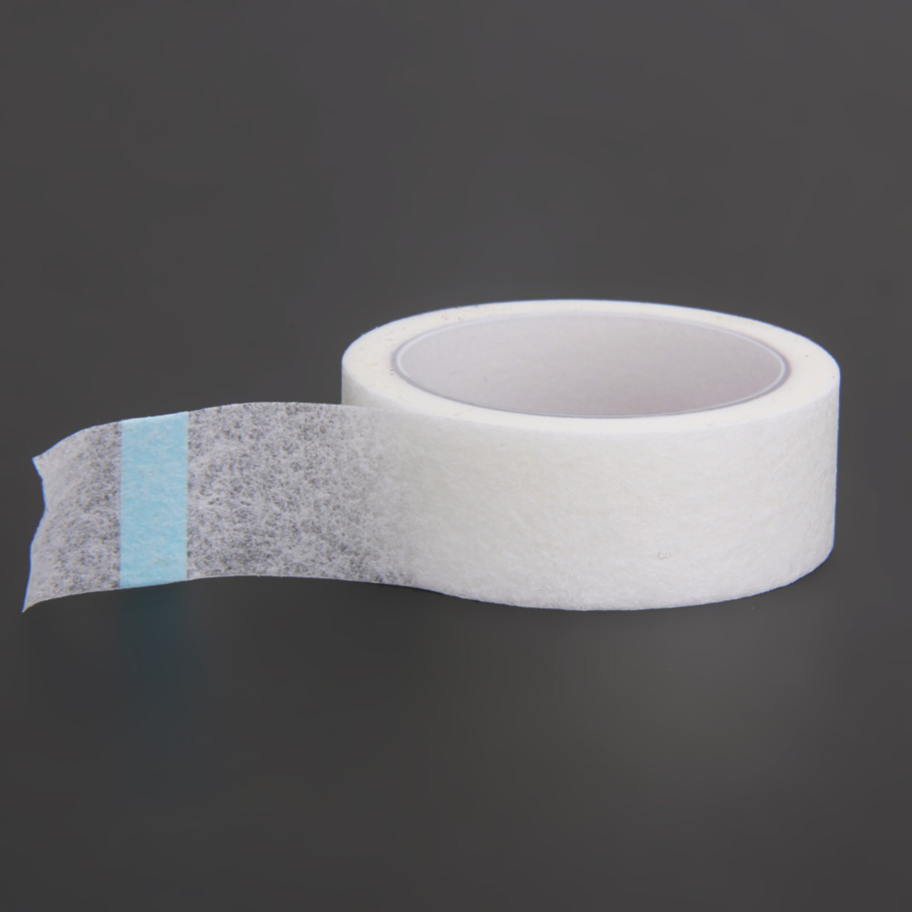 2 Rolls Professional False <font><b>Eyelashes</b></font> Individual Extension Guel Gel Micropore Paper Medical Tape Waterproof <font><b>Fake</b></font> <font><b>Eyelashes</b></font> <font><b>Glue</b></font> image