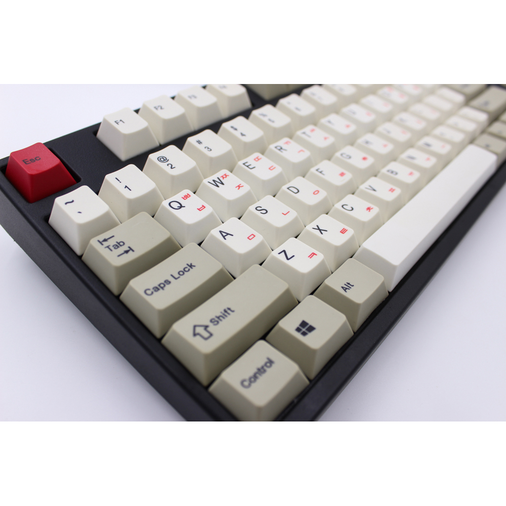 MP Version anglaise/coréenne 87/112 touches sublimées par colorant épais PBT keycaps MX Switch Cherry/NOPPOO/Flick clavier mécanique