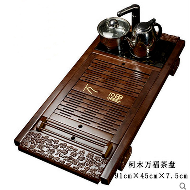 Chinese Tea Set Brewing Used Wooden The Tea Ceremony