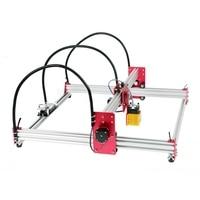 Mini 45*45cm Blue CNC Laser Engraving Machine 500mw/2500mw/15W DC 12V DIY Engraver Desktop Wood Router/Cutter/Printer CNC Laser