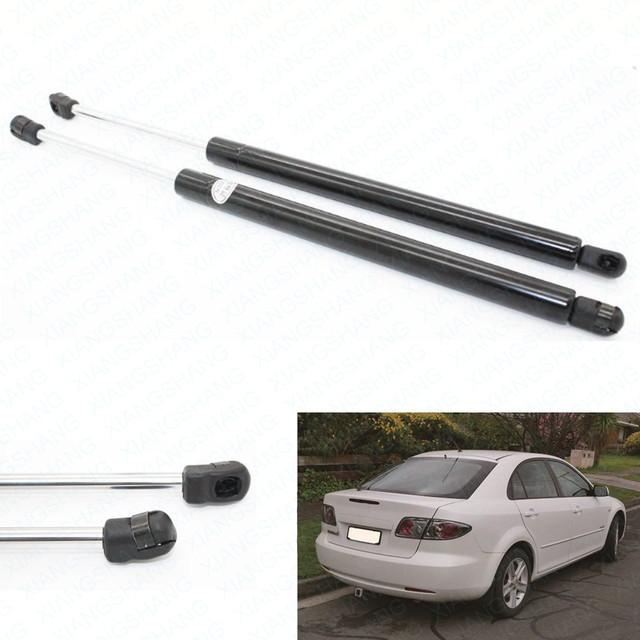 2 pcs Car Bagageira Bota Struts Gás Struts Choque Amortecedor Auto elevador Suporta serve para Mazda 6 Hatchback 2003-2006 Traseiro 2007 2008