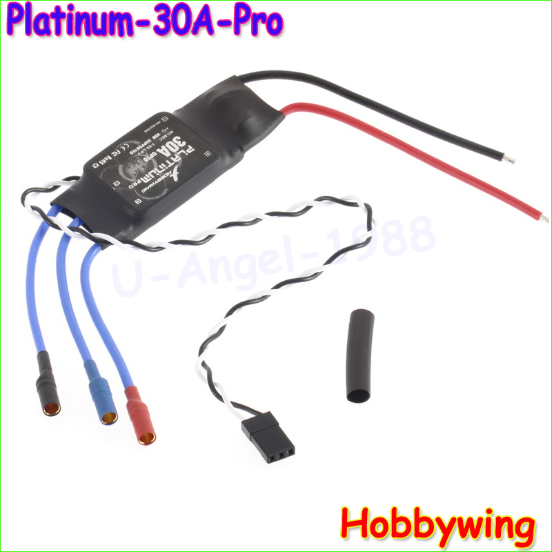 10pcs/lot Hobbywing platinum 30A OPTO PRO ESC Electronic Brushless Motor Speed Controller For RC Multi-rotor Multi-copter