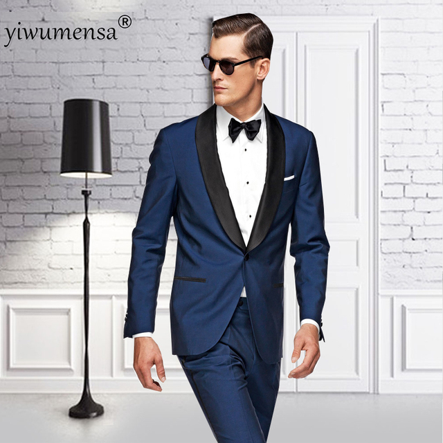 Ywms 35 Terno Masculino Casual Men Suit 2018 Mens Suits With Pants Wedding Suits For Men Custom Made Slim Fit Blazer Suits Man